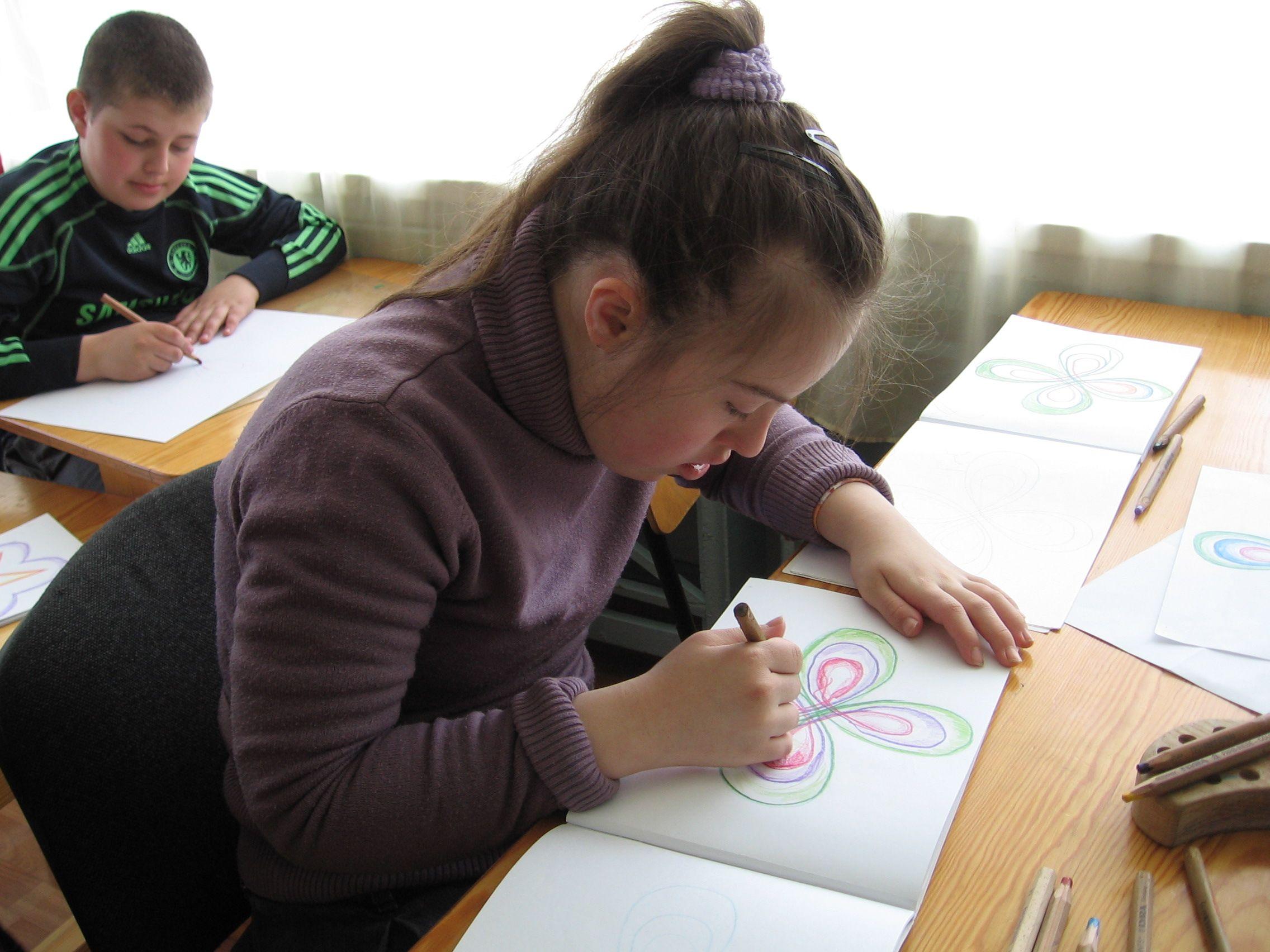 Рисуем с дауном